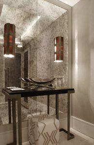 Antique  ogledalo Steklarstvo Kresal