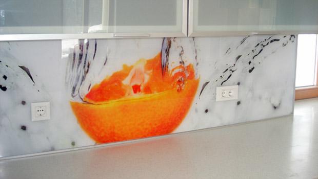 Steklarstvo Kresal - Kuhinjska stenska obloga