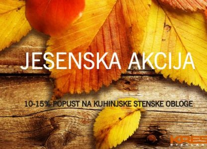 Steklarstvo Kresal - Jesenska akcija
