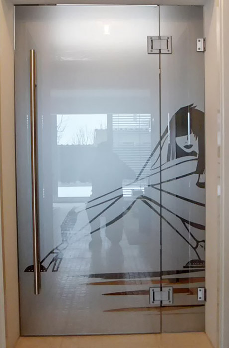 Steklarstvo Kresal - Nihajna vrata