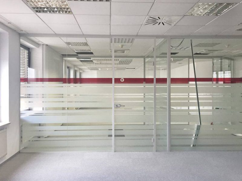 Steklarstvo Kresal - Pregradne stene