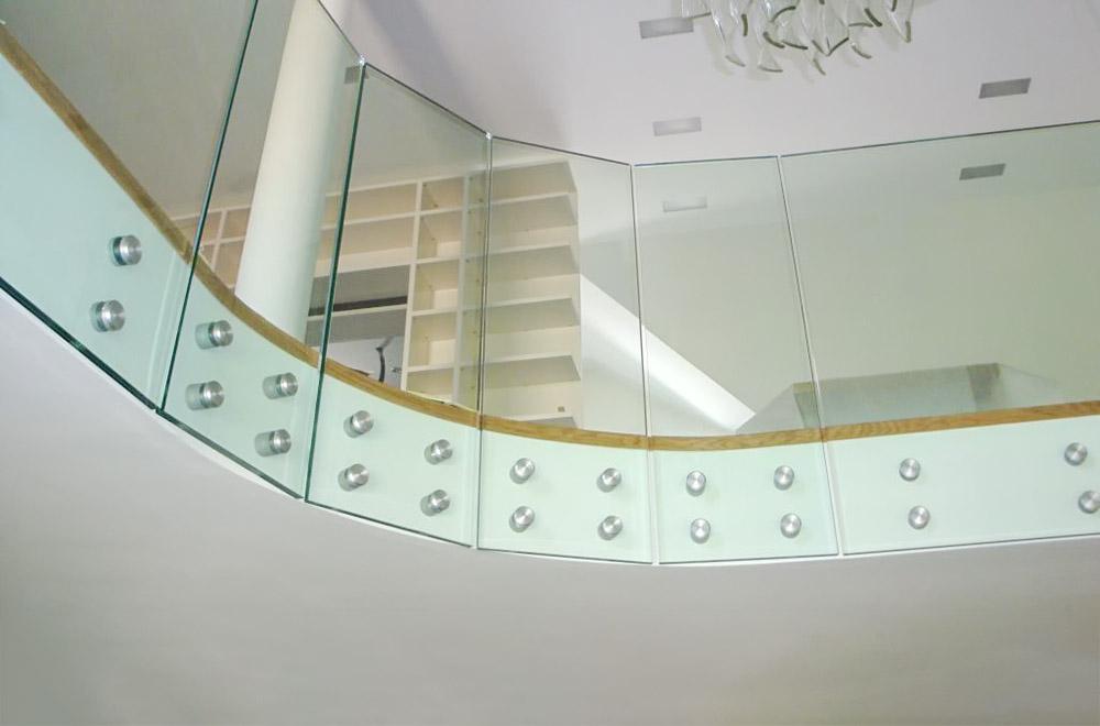 Steklarstvo Kresal - Steklena ograja