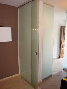 Steklarstvo Kresal- Steklena drsna vrata